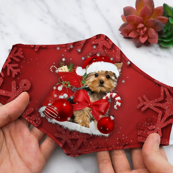 cute, puppy, Christmas, Gifts