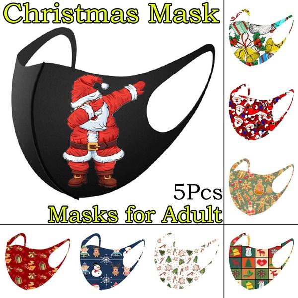 Bell, christmasmask, christmaspartymask, merrychristma