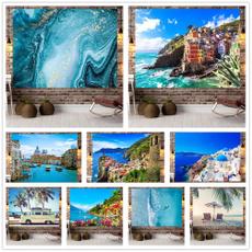 Exotic, Decor, Holiday, beachscenicviewtapestry