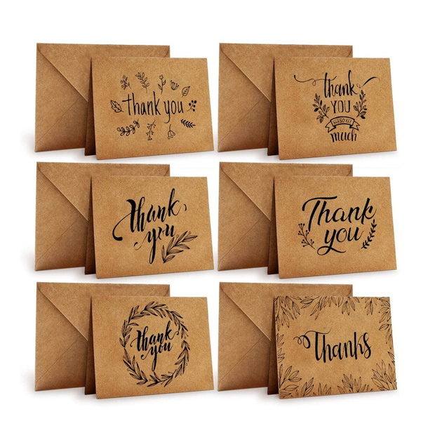 Card, brown, thankyoucard, Gift Card