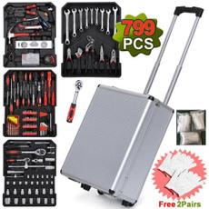 case, ratchetstoolbox, Aluminum, hardwa