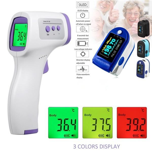 bloodoxygenmonitor, thermometergun, Monitors, gun