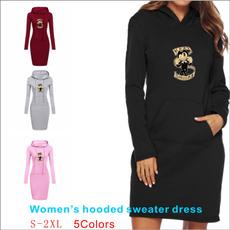 fallwinterdres, slim dress, Fashion, womens hoodie