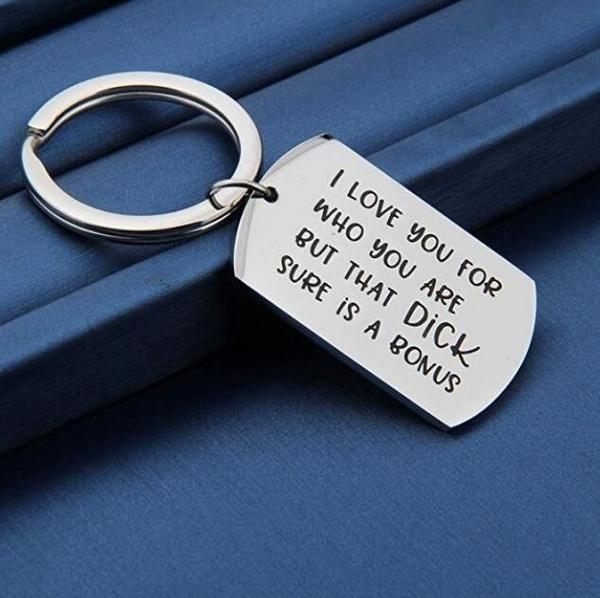 keychainforhusband, Key Chain, gaggift, Gifts