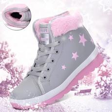 ankle boots, Cotton, Womens Boots, velvet
