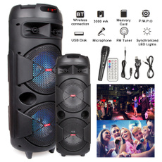 sound, Rechargeable, led, lights