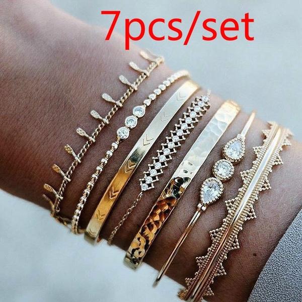 Charm Bracelet, DIAMOND, Jewelry, Gifts
