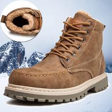 ankle boots, velvet, Winter, cottonboot
