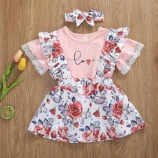 Summer, Baby Girl, Lace, sundress