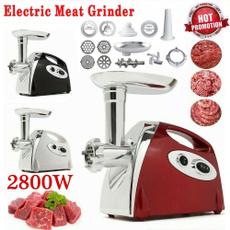 Steel, Machine, sausagemaker, Electric