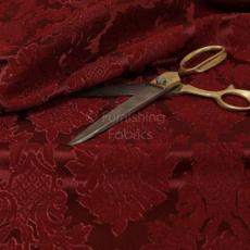 sofafabric, Red, furniturefabric, Floral