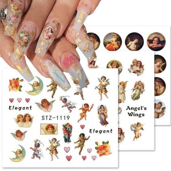 cupidnailsticker, nail stickers, art, Beauty