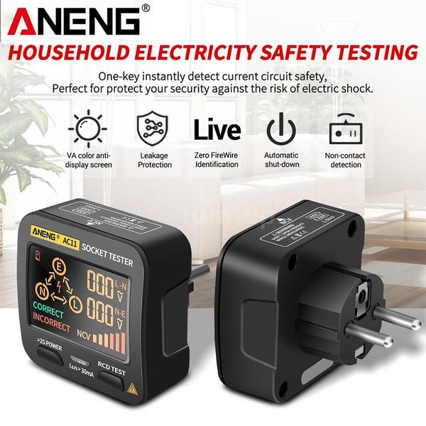 sockettester, Electric, voltagedetector, Ground