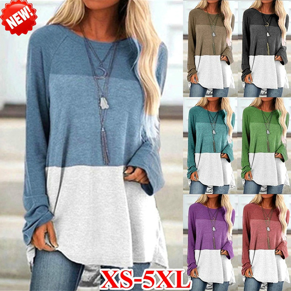 Plus Size, Fashion, pullover women, Sleeve