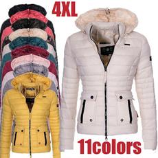 Jacket, hooded, women coat, winterjacketwomen
