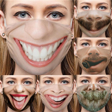 Funny, Cotton, mouthmask, unisex