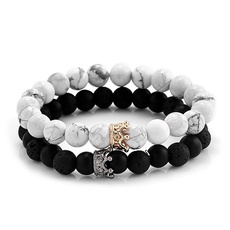 black bracelet, jewelrybead, Turquoise, Fashion