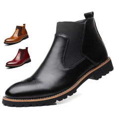 ankle boots, Footwear, leather shoes, leather