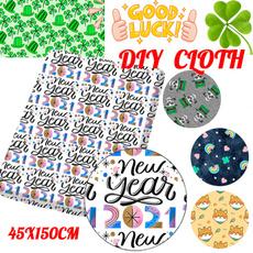 diycloth, Clover, Cotton fabric, Polyester