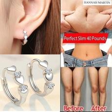 earringforwomen, weightlossearring, Hoop Earring, Love
