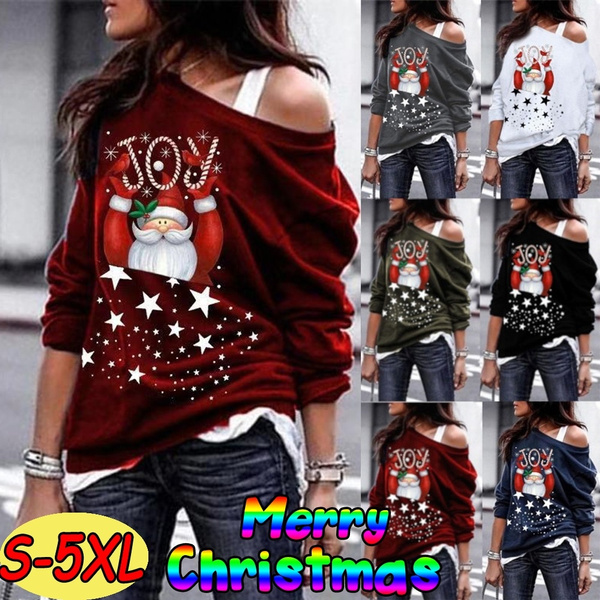 christmassweater, Fashion, Christmas, Long sleeved