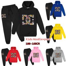 Fashion, hooded, pants, boysclothing