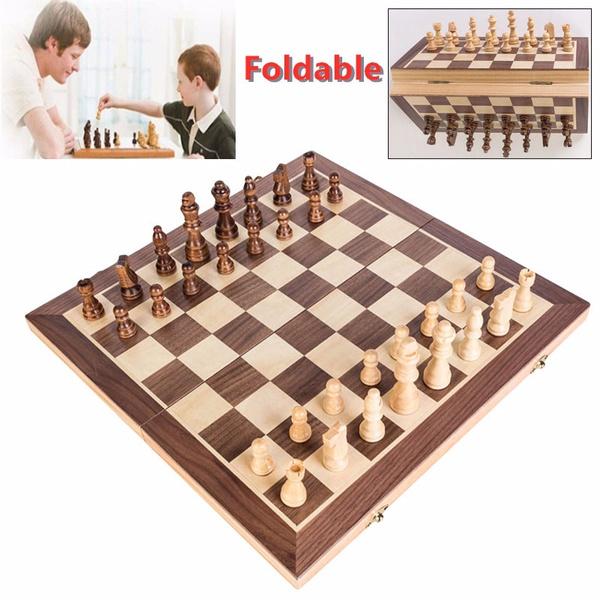 Chess, woodenchessset, chessboard, foldingche