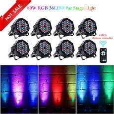 soundactivated, discoshowstagelight, ledflatparlight, Remote Controls
