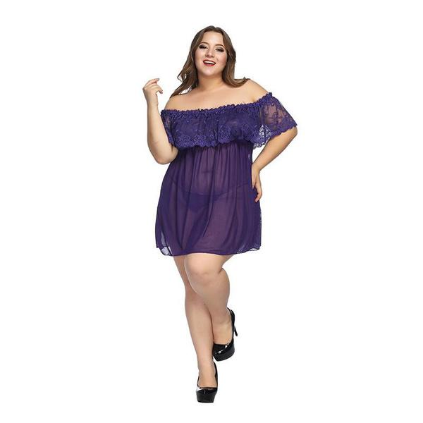 sexy underwear, woman fashion, Plus Size, Dress