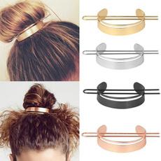 minimalist, metalhairpin, halfcircle, ushapedhairpin