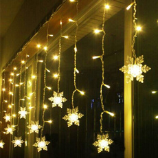 christmasfairylight, snowflakeflashinglight, Christmas, Waterproof
