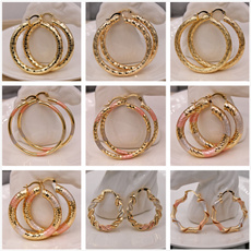 Fashion, gold, gold hoop earrings for women, womans fashion