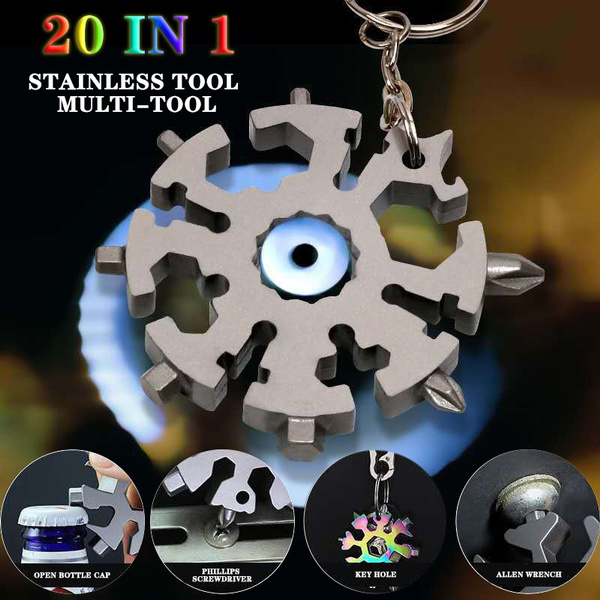 Multi Tool, Outdoor, Key Chain, Chain