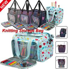 Knitting, yarnstoragebag, Sewing, crochetinghookorangizer