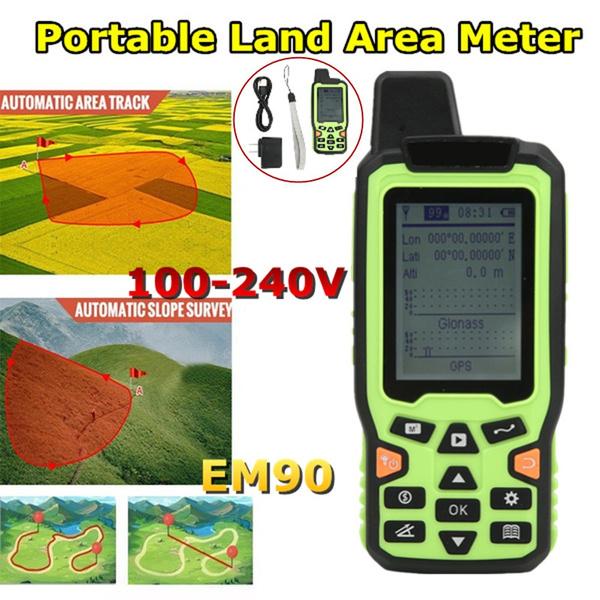 gpslandareameter, tracklandareameter, Gps, digitalmeasuring