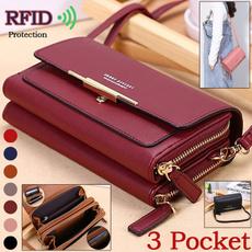 Shoulder Bags, Medium, coin purse, Simple