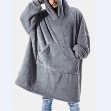 Fleece, hooded, Winter, thecomfyblanketsweathshirt