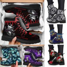 Head, Womens Boots, Winter, skullprint