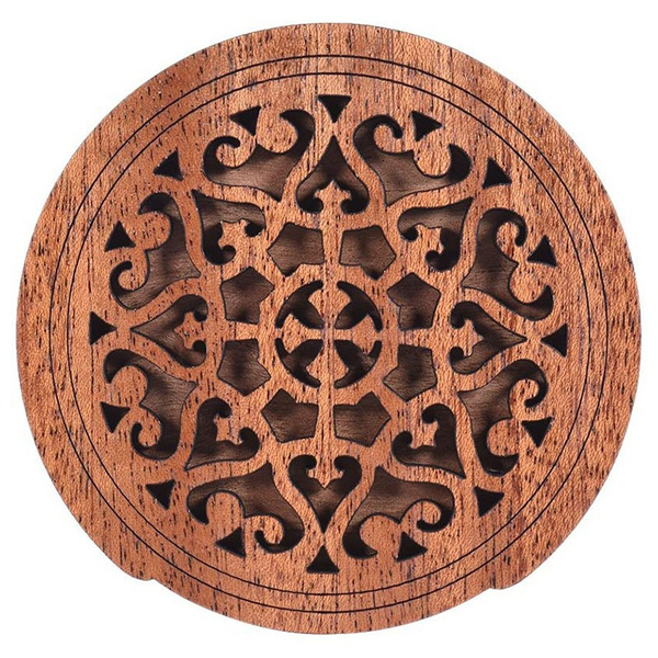 guitarcover, soundholecover, Wooden, mahogany