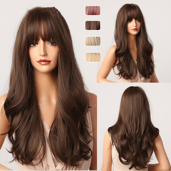 wig, brown, Cosplay, fashion wig
