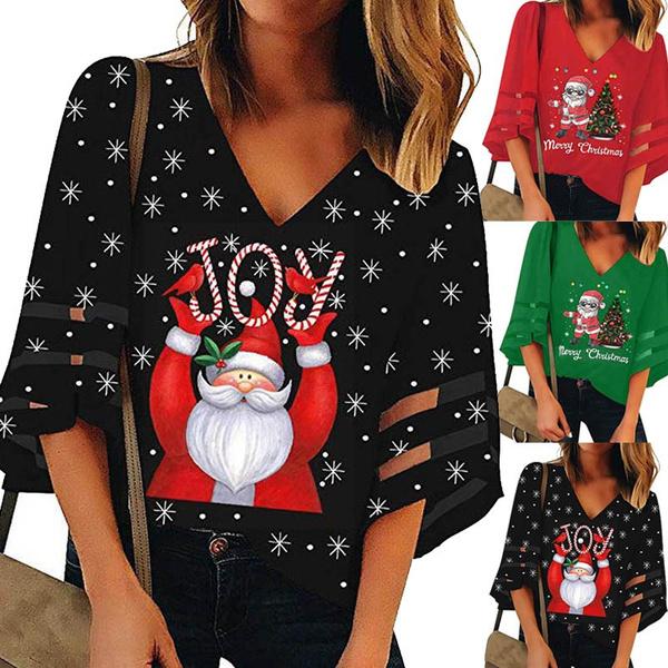 trumpetsleevetop, blouse, meshtop, Tops & Blouses