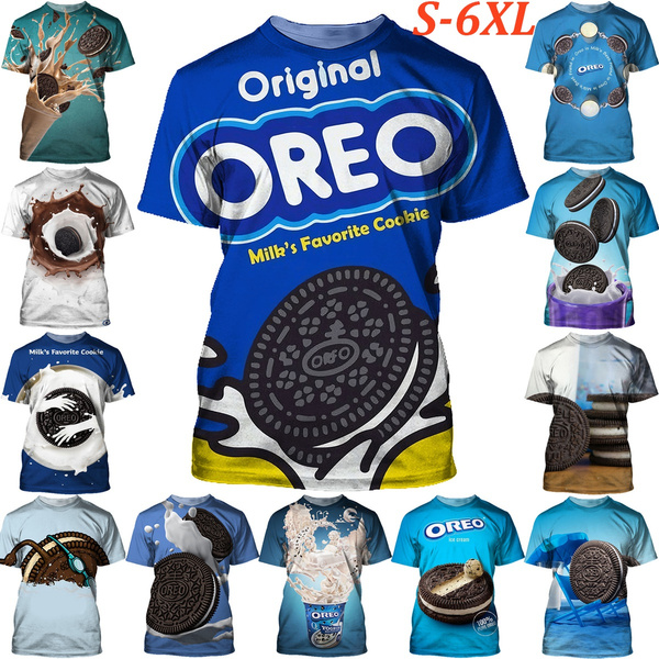 Funny, oreo, Graphic T-Shirt, unisex