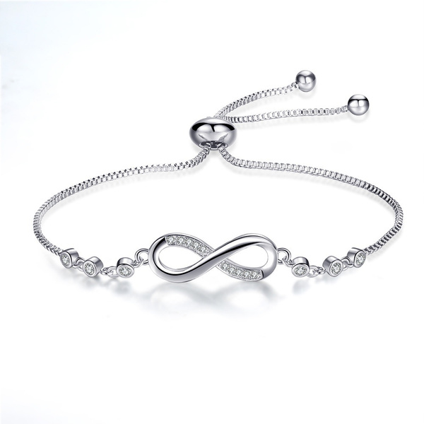 infinitelovebracelet, Charm Bracelet, DIAMOND, Love