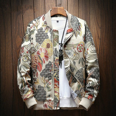 Fashion, Spring/Autumn, Coat, Men