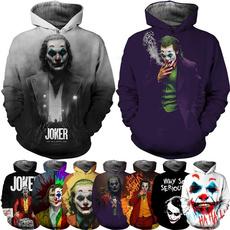3D hoodies, thejoker, Fashion, Sleeve