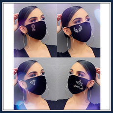 Cotton, Outdoor, mouthmask, partymask