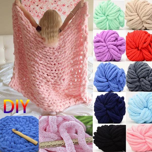 chenilleyarn, diyknitting, Home Supplies, knittingwool