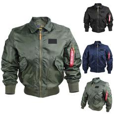 flightjacket, Plus Size, Cotton, Men's Fashion