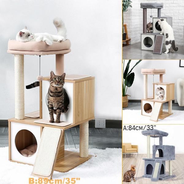 cathouse, catcondo, catclimbingframe, moderncattree