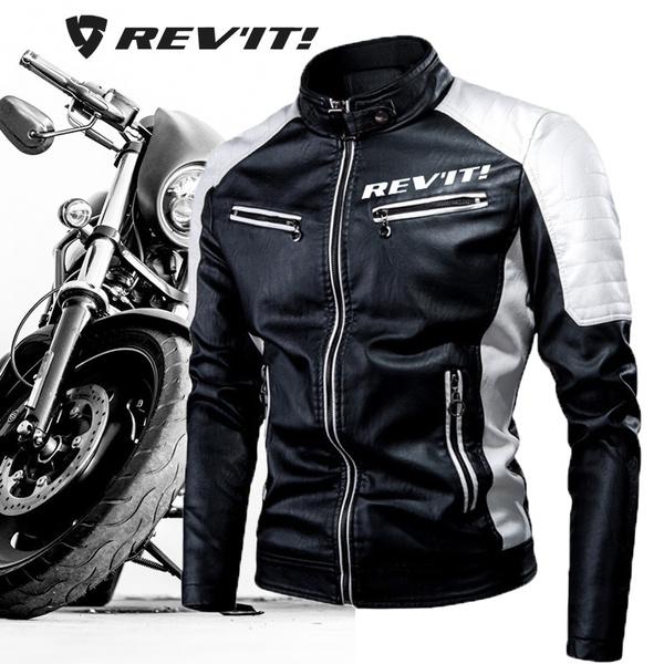 motorcyclejacket, men coat, Fashion, Winter